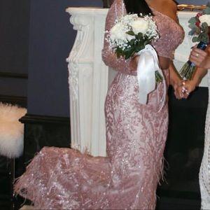 🌟Sherri Hill🌟 2 Piece Prom Dress Pink Size 4